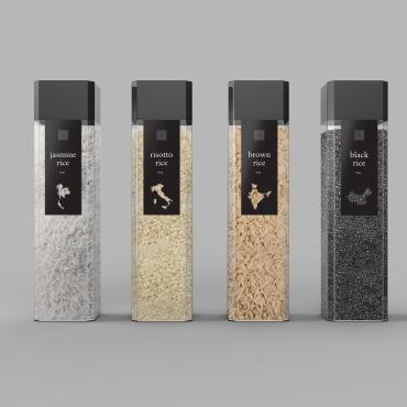 Dousan Miao Design rice packaging